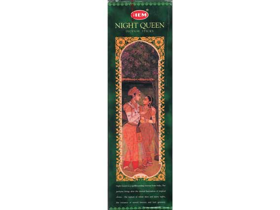 Night Queen Hem Incense 8g
